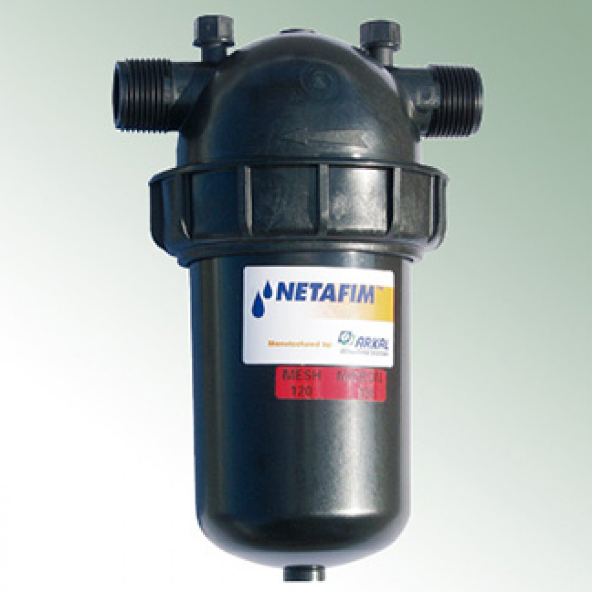 Arkal disc filter flow rate max m netafim drip
