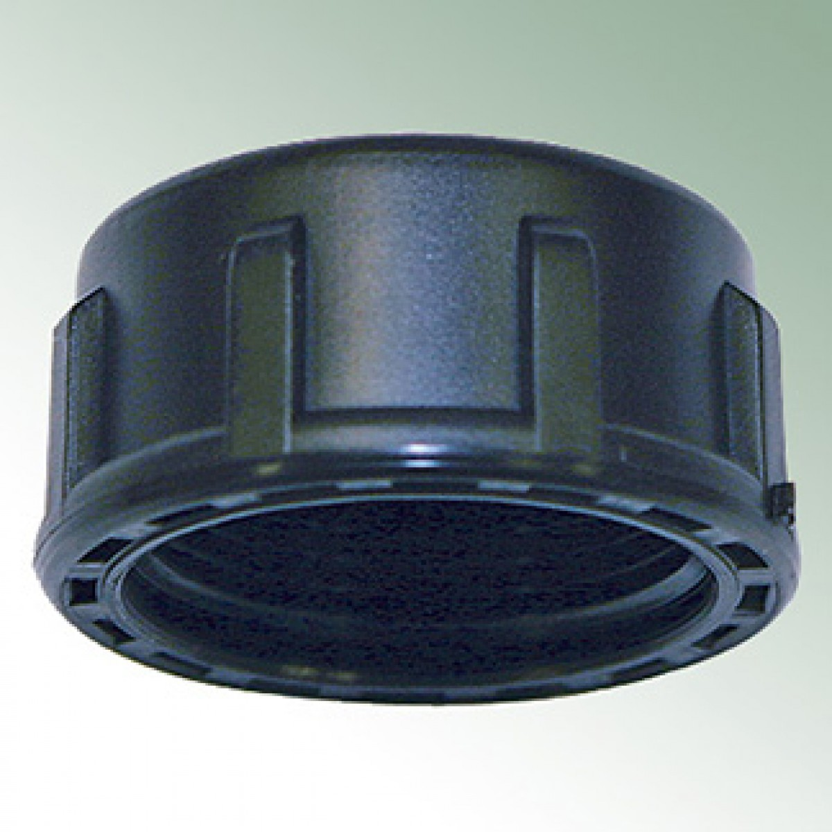 End cap female thread plastic with o ring pe lines