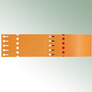 Thermo-Transf.Schlaufen 200X20 (4)-orange-blanko