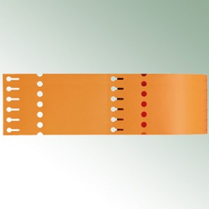 Thermo-Transf.Schlaufen 260X17 (4)-orange-blanko