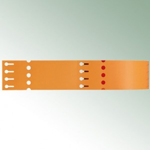 Thermo-Transf.Schlaufen 260X25 (4)-orange-blanko