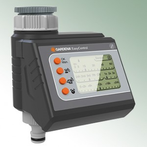 Gardena Irrigation Timer EasyControl with LC Display DC Direct Current