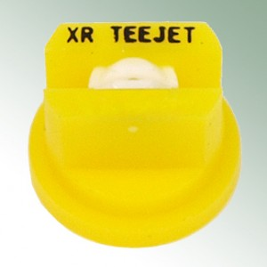 Mouth piece Yellow for Teejet- nozzle, Spraying angle 80° Size 02, Stainless Steel Insert
