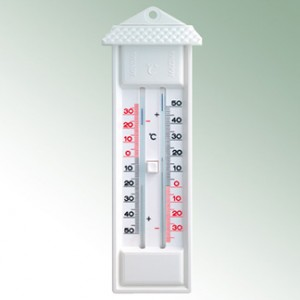 Mini-Max-Thermometer quecksilberfrei