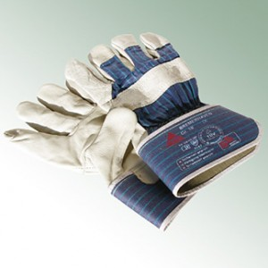Leather Gloves Bremerhaven, size 10