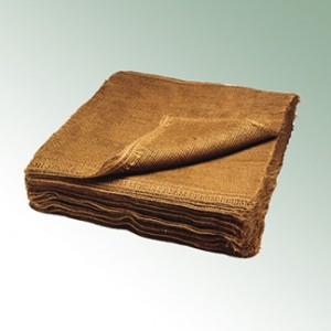 Hessian 160x160 cm - heavy pack = 50 pieces 128 m² / pack